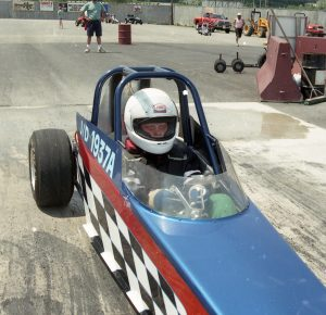 Tim Paquette began his racing career early behind the wheel of the Finely Done Too Jr. Dragster - Fran's Auto Body - Full Service Auto Repair in Hancock, NH - 603 525-4461